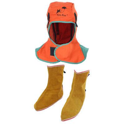 Welding Helmet Hood Welder Head Cover Welding Shoes Spats Feet Cover