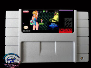 SUPER-METROID-JUSTIN-BAILEY-SNES-Video-Game-USA-version