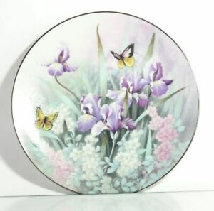 Collection-Plate-Edwin-WITH-Knowles-Topaz-Beauties-Butterfly-Certificate-Boxed