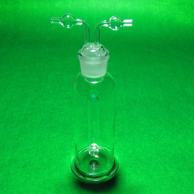 250ml Monteggia Gas Washing bottle,Heavy Wall,Lab Porous Gas Wash Bottles
