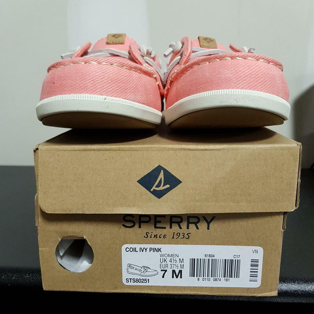 Sperry Sperry Sperry Coil Ivy Pink BRAND NEW w DEFECT Style  STS80251 Size 7 M Wmn's 62fcfb