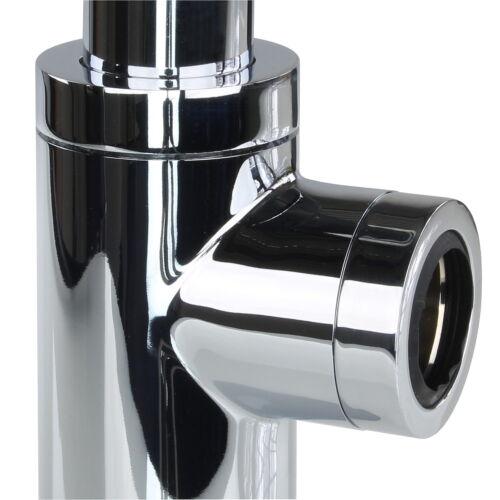 Siphon Sifon Waschbecken Ablaufgarnitur Röhrensiphon Waschtisch Ablauf Abfluss