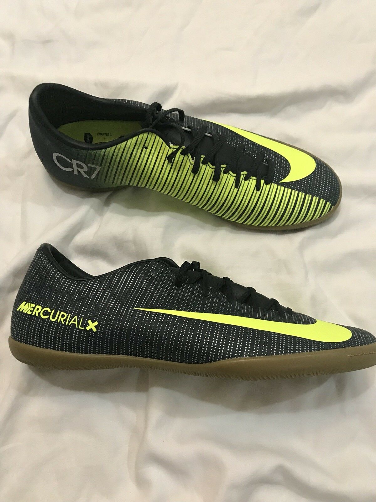 27367301459 Nike MercurialX Victory VI CR7 IC Green Indoor Court Soccer Soccer ...