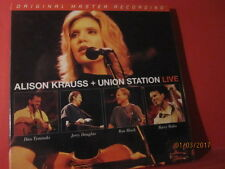"MFSL 3-281 ALISON KRAUSS+UNION STATION "" LIVE "" (180GRAM/3-LP/RECORD-BOX/SEALED)"
