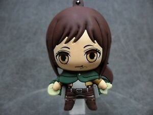 Attack on Titan NEW * Sasha * Blind Bag Figural Keychain Key Chain Anime Manga