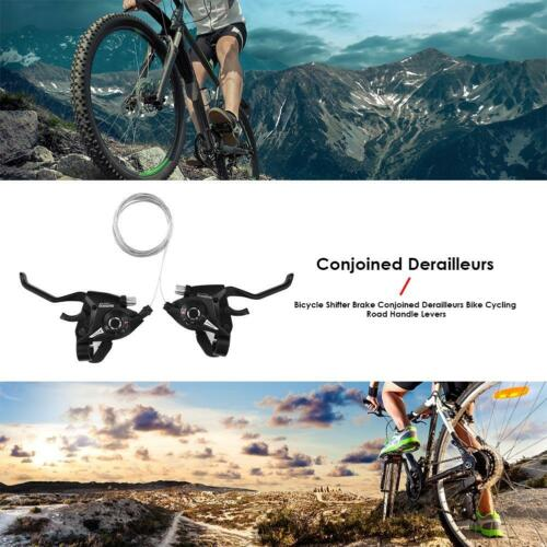 Bicycle Shifter Brake Conjoined Derailleurs Road Bike Cycling Road Handle Levers