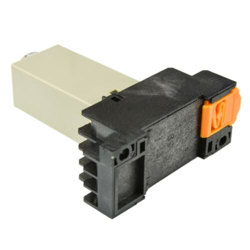 240V A//C Coil 0-10S 1 PC Omron Solid State Timer H3Y-4 5A with Socket Base