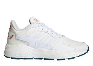 Adidas-CHAOS-EF1323-Bianco-Scarpe-Donna-Sneakers-Sportive-Running