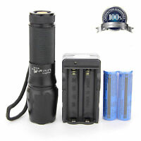 X800 Tactical Flashlight Ultrafire With Battery Charger G700