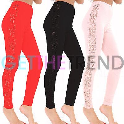 Leggings leggins pantaloni donna fantasia floreale moda nuovi AS-5208
