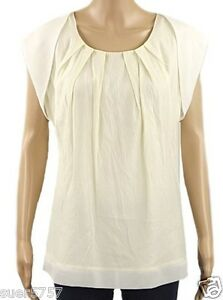 New M/&S Notch Neck Blouse Top Tunic Light Coral Pink Marks and Spencer 10-18