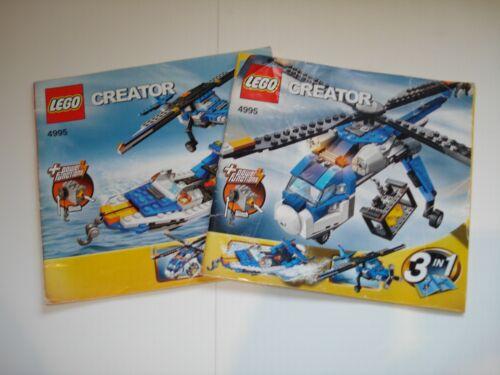 Lego Creator 1x Set of Instructions Multiple Variations!