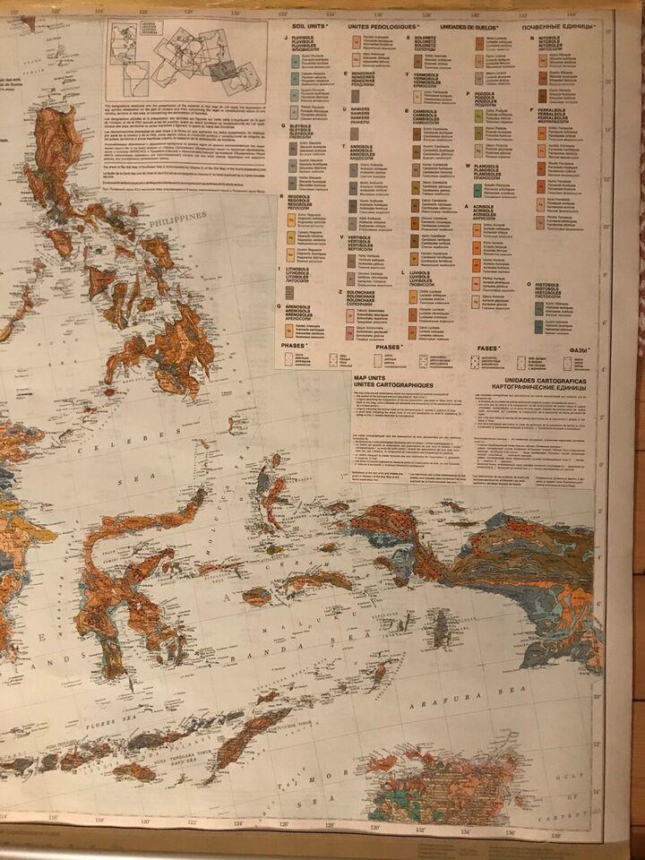Jordbundskort, FAO/UNESCO