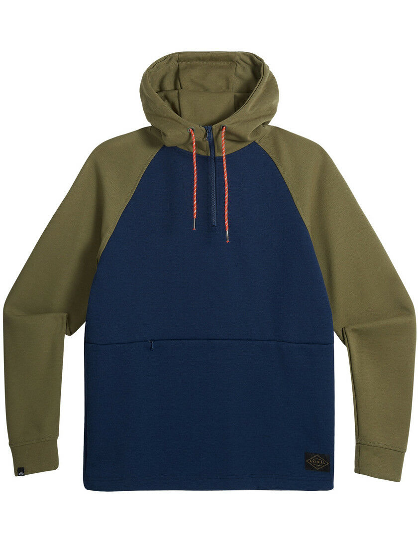 Animal Rupe Pullover Hoody in Dark Navy