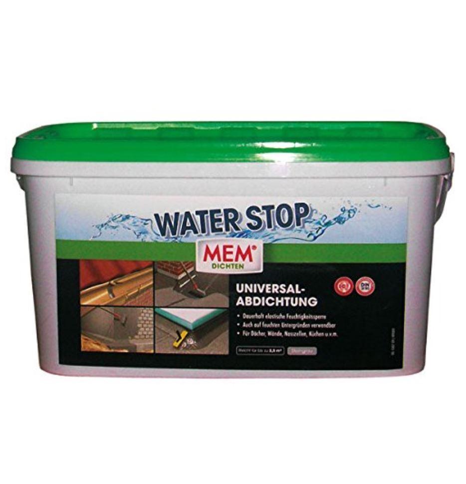 MEM Water Stop 6 Kg    Universalabdichtung    Dichtmasse    Flexibel    Grau