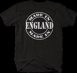 Made in England British UK Tshirt