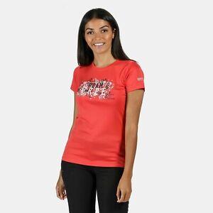 Regatta Women/'s Fingal V Graphic T-Shirt Green