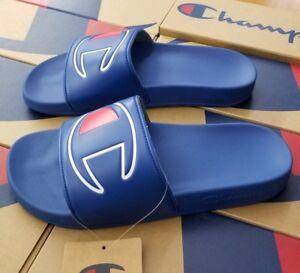 c69ad26a4600f Image is loading CHAMPION-MEN-039-S-SLIDE-SANDAL-IPO-ROYAL-