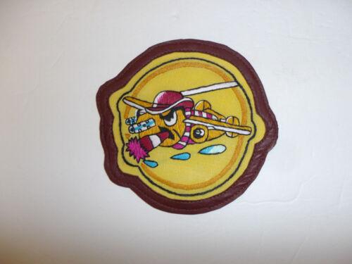 b1053c  WW 2 US Army Air Force 22nd Bomb Squadron Patch CBI leather//cloth R12B