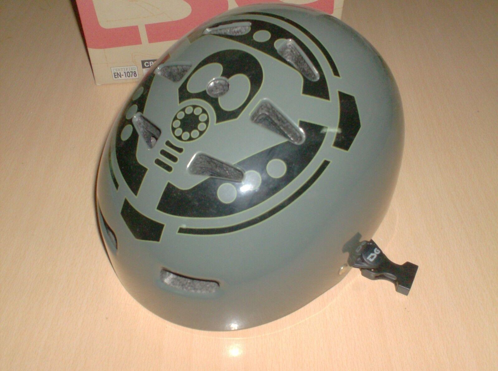 S board helmet TSG alien workshop grey size S M  - new s  - new, nos  new branded