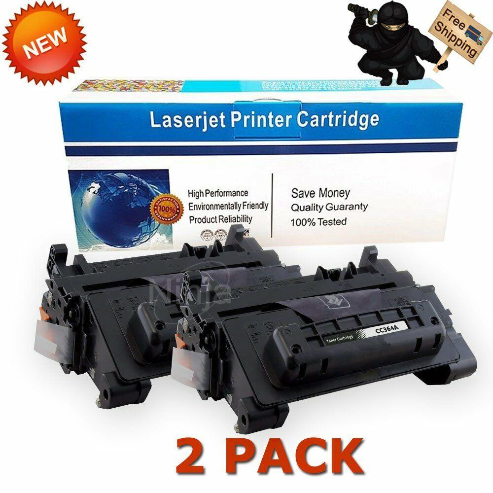 2 Pack 64X P4515xm Printers,by UstyleToner. P4515tn P4014DN P4015n P4515n P4515X CC364X Black Compatible Toner Cartridge Replacement for HP Laserjet Pro P4014 P4014n