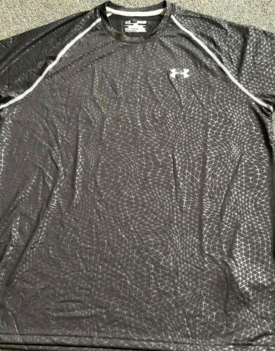Men/'s Under Armour Loose HeatGear Shirts Medium Black Bagged