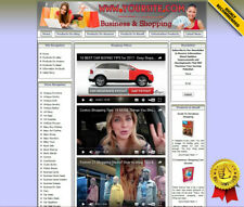 Affiliate Store Online Business Website For Sale Amazon Adsense Youtube Rss News