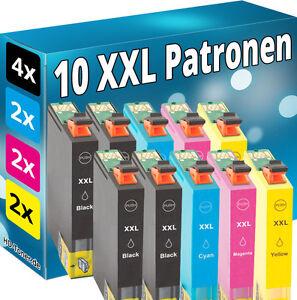 10x-tinta-cartuchos-para-Epson-xp245-xp342-xp442-xp235-xp332-xp335-xp432-xp435-set