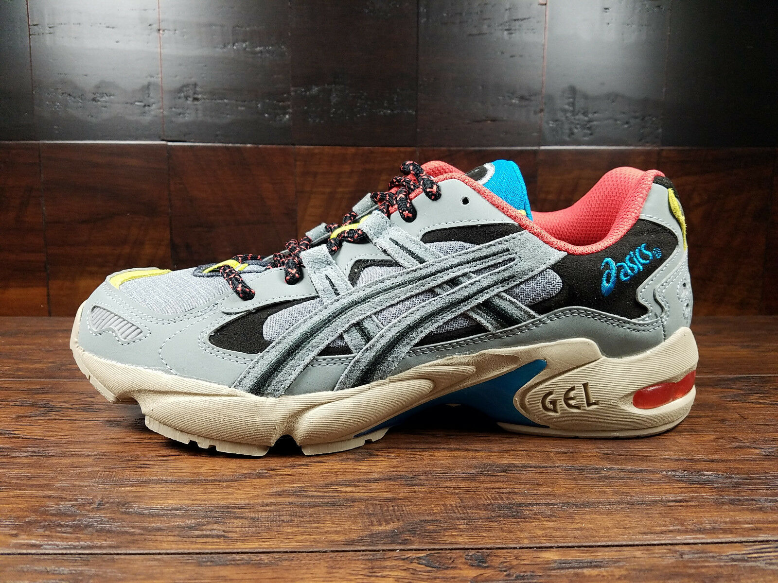 ASICS GEL-KAYANO 5 OG (Stone Grey bluee Pink Beige) (1191A148-020) Running Mens