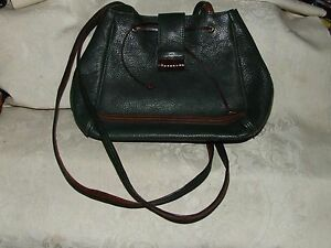 Image Is Loading Vintage Carla Marchi Italian Green Leather Shoulder Bag