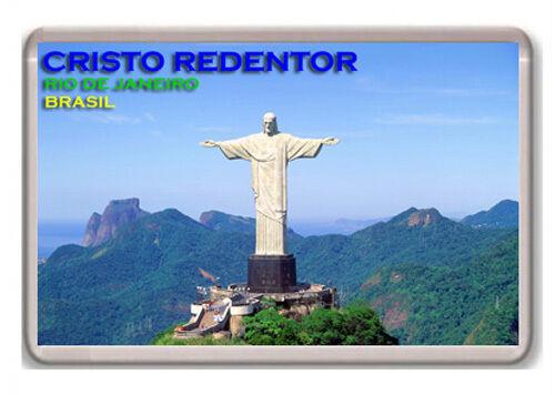 CRISTO REDENTOR RIO DE JANEIRO BRASIL FRIDGE MAGNET SOUVENIR NEW IMÁN NEVERA
