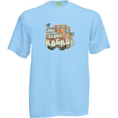 Pigeon Street T-Shirt Distressed Logo Retro TV Show Ladies Mens Unisex Tees