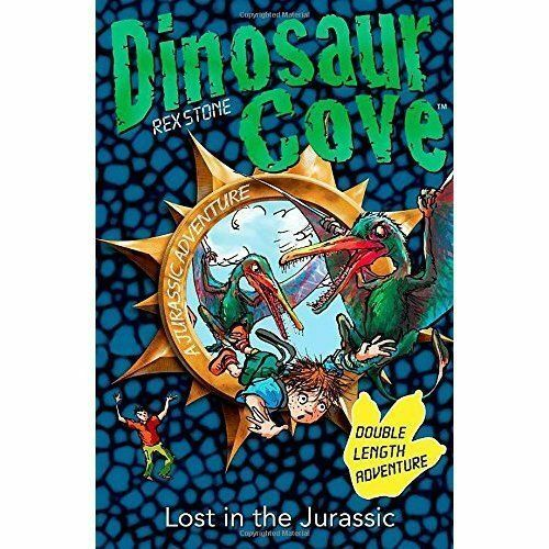 "1 of 1 - ""VERY GOOD"" Stone, Rex, Dinosaur Cove: Lost in the Jurassic, Book"
