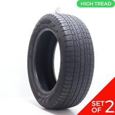 Set Of 2 Used 27555r20 Pirelli Scorpion Str 111h 85 1032 Fits 27555r20