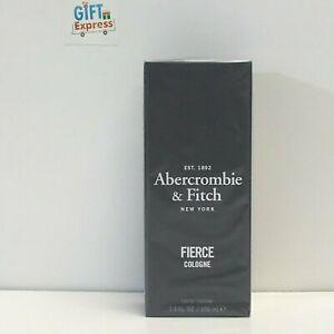 New-Abercrombie-amp-Fitch-Fierce-Eau-de-Cologne-Spray-for-Men-100-ml-3-4-oz-Sealed
