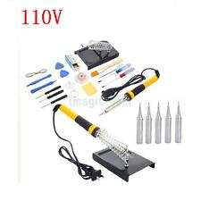 23in1 110V 40W Electric Solder Soldering Iron Welding Gun Tools Welder Kit New
