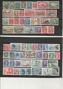 Briefmarkenlot  Kanada   siehe Scan  / Lot  7238