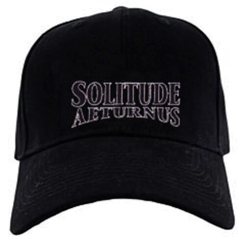 Solitude Aeternus cap hook and loop closure hat epic doom metal