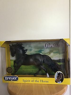 Breyer Glorioso Andalusian Stallion 2016 Brick And Mortar Limited Edition