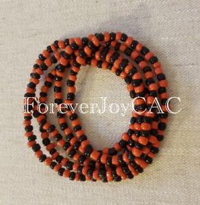 Collar-Eleke-Orisha-Eshu-Elegua-Eleggua-Ifa-Santeria-Spiritual-Beaded-Necklace