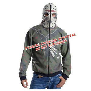 Capuche shirt 1 Cosplay Sweat Venerdì Pull 13th Jason Voorhees Vendredi 13 Avec 8ww6ST