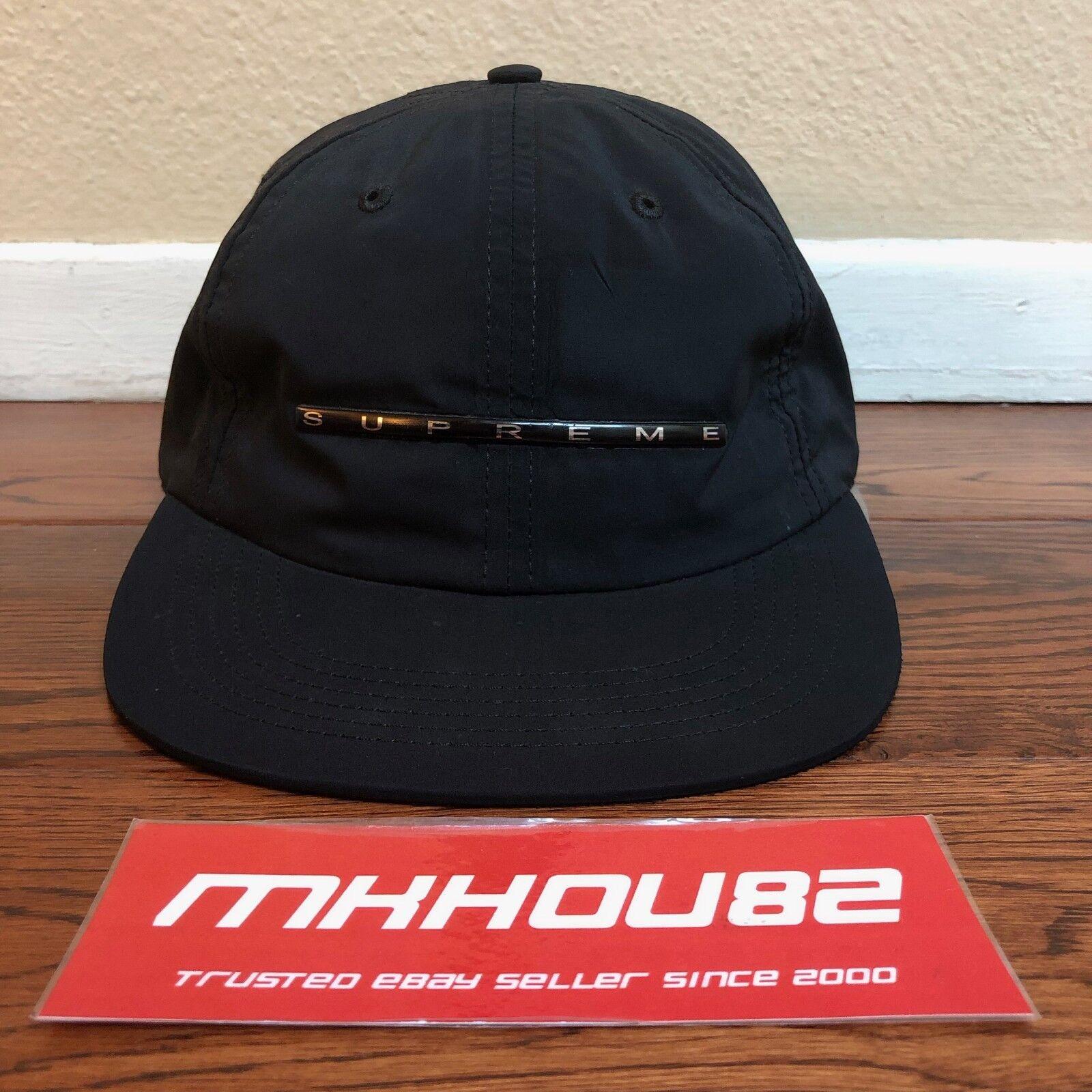 c4eec85b997 Buy supreme overlap panel cap hat black camp spring summer jpg 1600x1600  Supreme baseball cap model