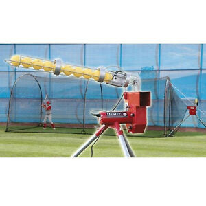 Heater Combo Pitching Machine And Xtender 24 Batting Cage