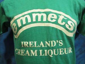Image Is Loading Vintage 80s Emmets Ireland 039 S Cream Liqueur