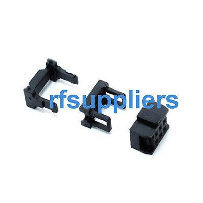 10x 2.54mm Pitch 6Pin 8Pin 10Pin ~ 40P IDC FC Female Header Coonnector 3pcs/set