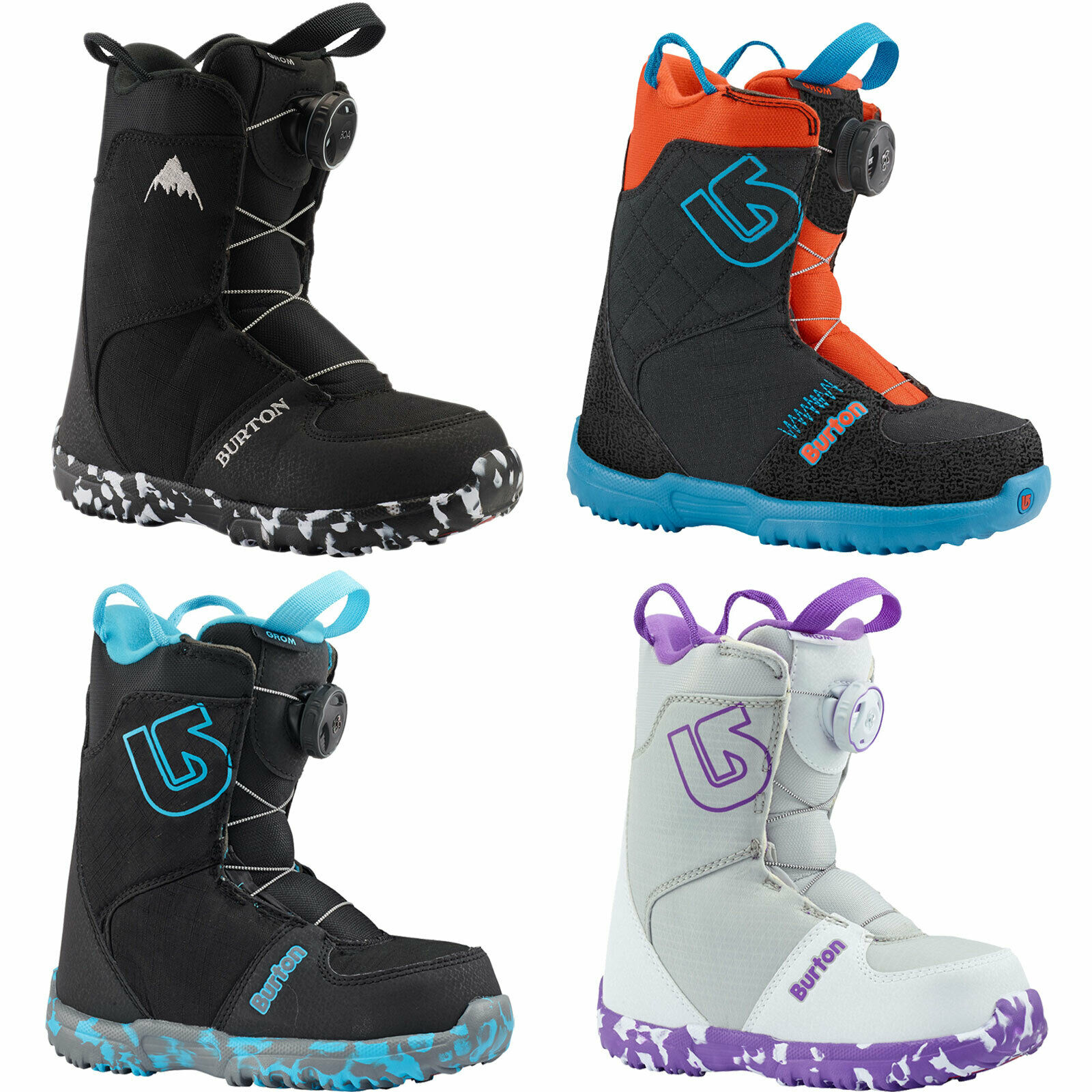 Burton Grom Boa Kinder-Snowboardschuhe Soft  Boots  ldren´S Snowboard New  60% off