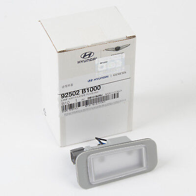 Genuine OEM Rear Carmera License Plate Light Lamp for 2009-2014 HYUNDAI Genesis