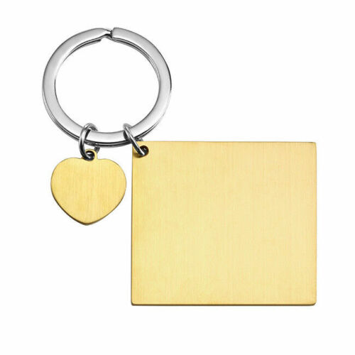 Engraved Ring Date Anniversary Calendar Birthday Special Keychain Couple Gift