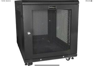 StarTech.com Server Rack Cabinet - 12U 31in Deep Enclosure - Network Cabinet NIB
