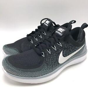 the best attitude 308a3 59fa6 Details about Nike Free RN Distance 2 Women's Running Shoes  Black/White-Cool Grey 863776-001